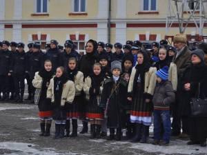 Activitate cultural-educativă dedicată Zilei Unirii, la Școala Militară de Subofițeri de Jandarmi Fălticeni