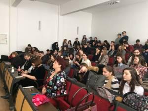 """Mica Unire a fost sărbătorită la Colegiul Tehnic """"Alexandru Ioan Cuza"""" din Suceava, pe data de 25 ianuarie"""