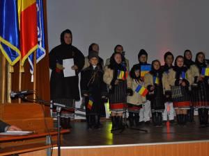 Ziua Unirii la Școala de Subofiţeri Jandarmi Fălticeni