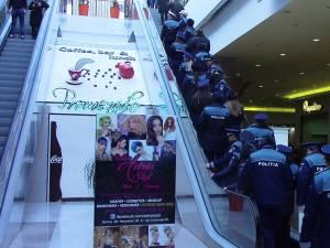 Acţiunea a avut o amploare deosebită prin numărul foarte mare de poliţişti implicaţi