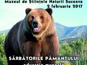 """""""Ziua ursului"""", la Muzeul de Știinţele Naturii Suceava"""