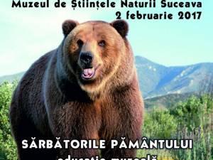"""""""Zilele animalelor sălbatice"""": """"Ziua ursului"""", la Muzeul de Ştiinţele Naturii Suceava"""