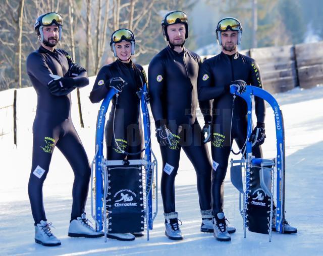 România, locul IV în proba pe echipe la Campionatul Mondial de sanie pe pârtie naturală