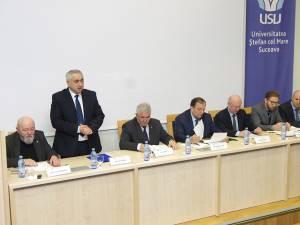 Autorităţile locale și judeţene și USV au prezentat proiectele cu prilejul Centenarului