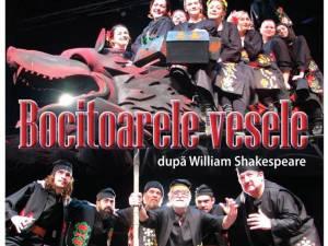 """Actorii botoşăneni aduc la Suceava """"Bocitoarele vesele"""", după William Shakespeare"""