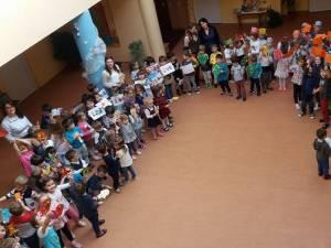 """100 de zile de grădiniţă la GPP """"Sfântul Ioan cel Nou de la Suceava"""""""