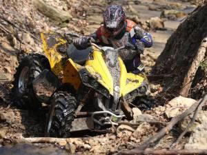 A ajuns în stare gravă la spital, după ce s-a autoaccidentat cu ATV-ul în pădure