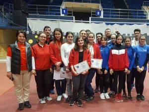 Arcașii din județul Suceava au câștigat 13 medalii șa naționalele de sală pentru juniori I și seniori