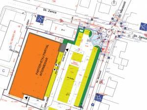 Principala modificare vizează amenajarea unui amplu sens giratoriu la intersecţia străzilor Zamca şi Mărăşeşti