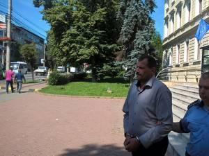 Vasile Marocico, în vara lui 2016, când a fost arestat preventiv
