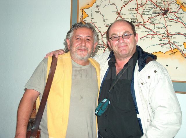 Cu Ovidiu Lipan Ţăndărică s-a întâlnit chiar la Suceava, în urmă cu câţiva ani, la un concert al formaţiei Phoenix
