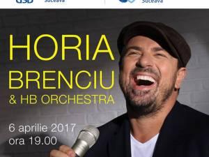 Horia Brenciu concertează la Suceava