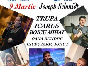 Trupa Icarus, Arcanul USV şi Mihai Boicu, joi, în concert pe scena USV