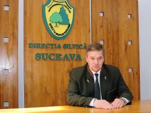 Sorin Ciobanu, şeful Direcţiei Silvice Suceava