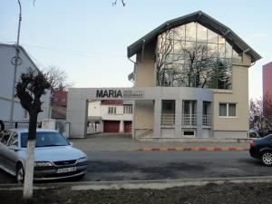 """Hotelul """"Maria"""" din centrul Rădăuțiului, locul unde a avut loc violul"""