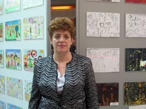 """Profesoara Maria Matei, directoarea GPP ,,Gulliver"""", unul dintre organizatori"""