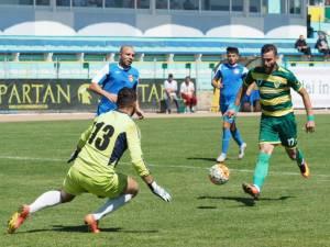 Foresta pierde la Târgoviște, după 35 de minute jucate în inferioritate