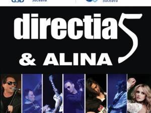 Direcția 5 concertează la Suceava