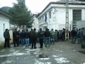 Minerii de la Crucea au declanşat protestele