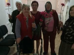 Beneficiari ai Căminului pentru Persoane Vârstnice Solca