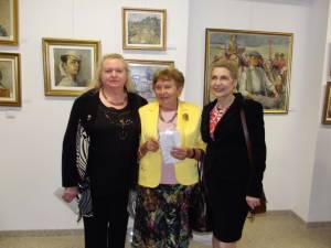 "Vernisajul expoziției retrospective ""Dimitrie Loghin"""
