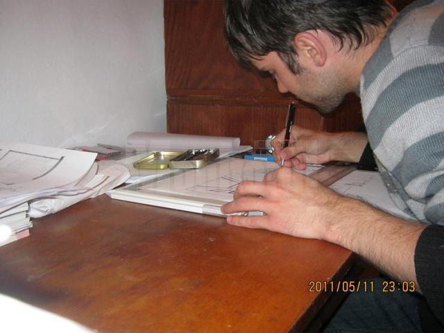 Nicolae Comarițan a primit o bursă de studii la Institutul de Artă și Design din New York