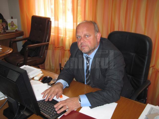 Fostul primar din Rădăuţi Aurel Olărean