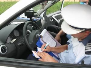 Şoferul s-a ales cu dosar penal