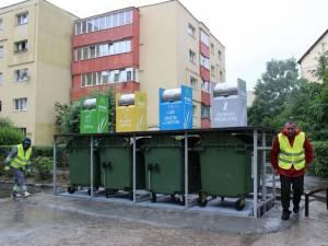 Platforme subterane de colectare a gunoiului menajer