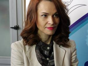 Simona Sofroni, directiorul executiv adjunct al AJOFM Suceava