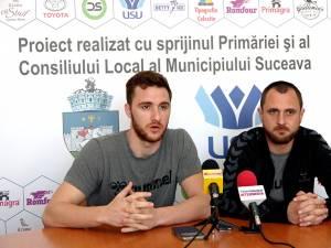 Studenții speră să câștige prima confruntare din play-out, cu CSM Focșani