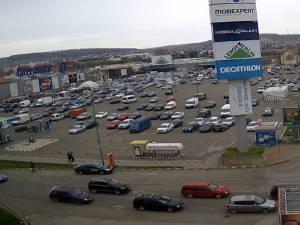 Traficul rutier pe Calea Unirii