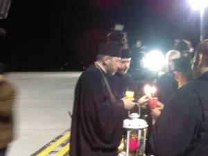 Lumina Sfântă a ajuns în Suceava