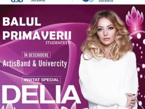 Delia concertează, pe 25 aprilie, la Suceava