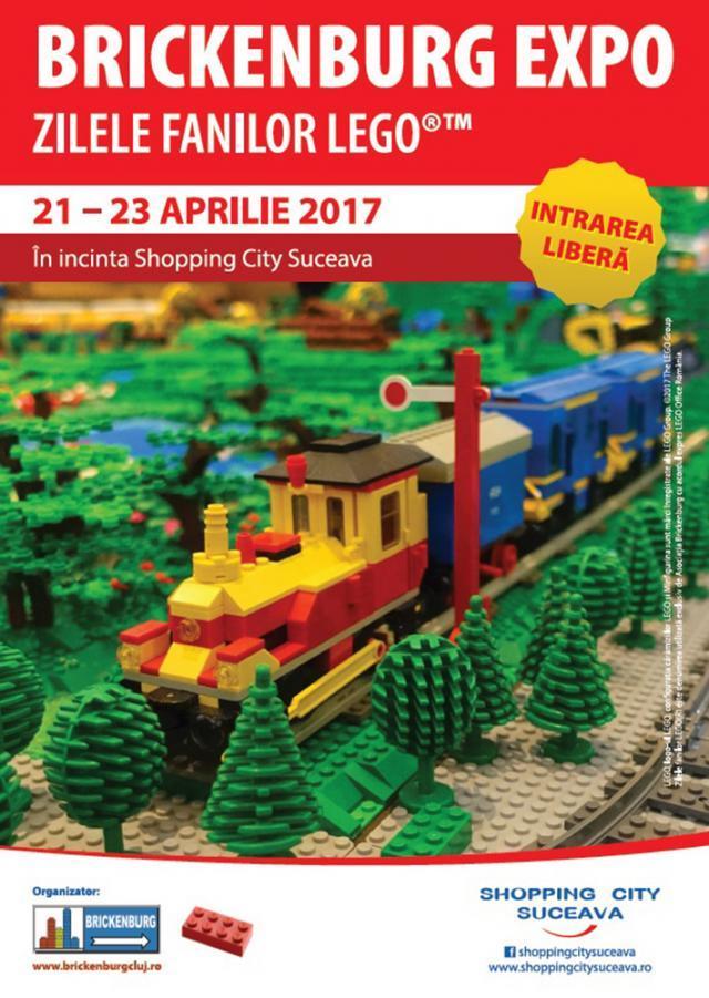 Zilele Fanilor LEGOTM, la Shopping City Suceava