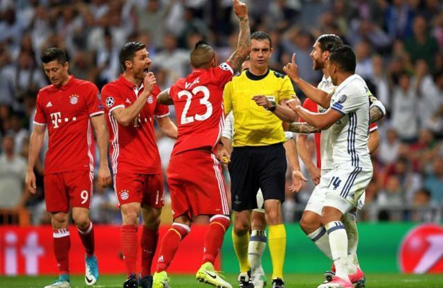 Calificarea celor de la Real Madrid contestată vehement de bavarezi