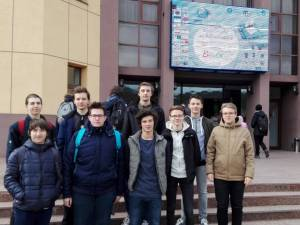 Lotul judeţean care a participa la olimpiada de la Braşov