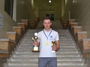 Gheorghe Cojocariu, de la USV, și-a adjudecat Premiul I