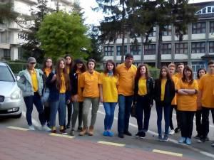 """Lotul județean a fost alcătuit din elevi ai Colegiului de Artă """"Ciprian Porumbescu"""""""