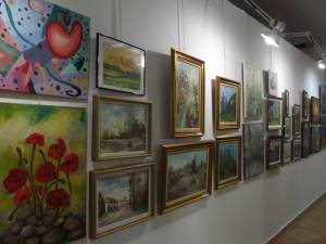 Anunț pentru participarea la Salonul de primăvară-vară al artiștilor plastici amatori