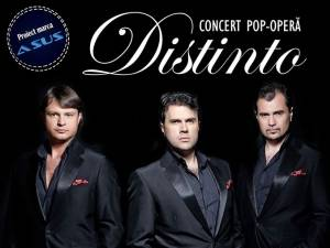 Concert de pop-opera cu trupa Distinto, la Universitatea din Suceava