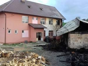 Incendiu la şcoala din Lupcina