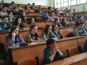 Întâlnire a studenţilor USV cu reprezentanţii firmei irlandeze Ims Maxims