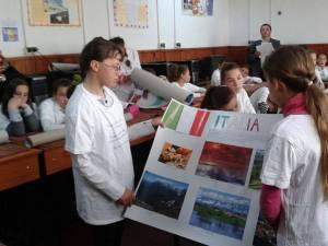 Copiii crescuţi de asistenţi maternali din Bogdăneşti au sărbătorit marţi Ziua Europei