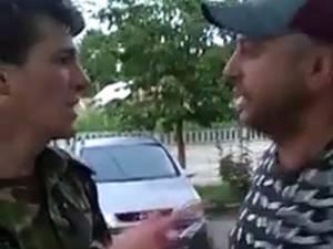 Agentul Cătălin Horecica, ultragiat de Emilian Cioară, un individ din judeţul Botoşani