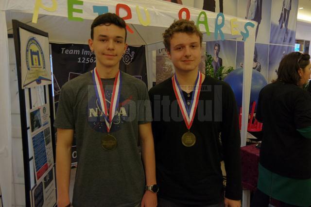 Ştefan Şovea şi Andrei Ventuneac şi-au adjudecat aurul la secţiunea Environment