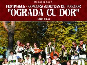 """Festivalul-concurs județean de folclor tradițional """"Ograda cu Dor"""""""