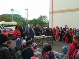 Donație de carte la Școala Gimnazială Păltinoasa