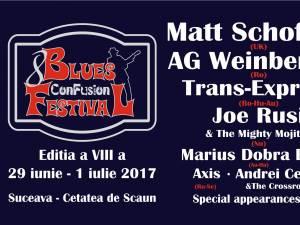 """Festivalul Internațional de Muzică Blues """"Con – Fusion"""", la Suceava"""