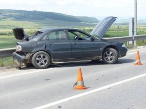 Autoturismul implicat în accident